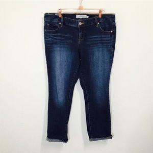 Torrid Skinny Capri Boyfriend Jeans!